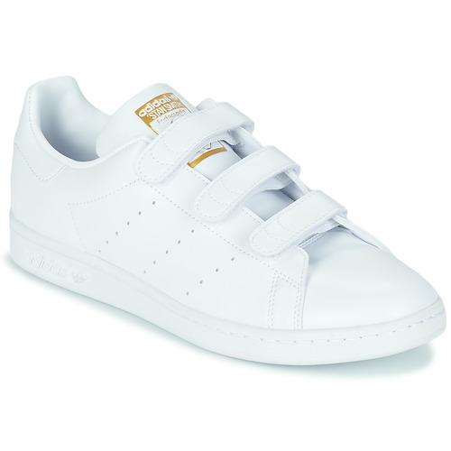 Scarpe Sneakers basse adidas Originals STAN SMITH CF SUSTAINABLE Bianco