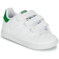 Scarpe Unisex bambino Sneakers basse adidas Originals STAN SMITH CF I SUSTAINABLE Bianco / Verde
