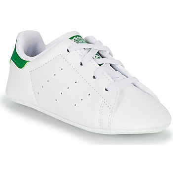 Scarpe Unisex bambino Sneakers basse adidas Originals STAN SMITH CRIB SUSTAINABLE Bianco / Verde