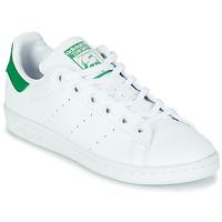 Scarpe Unisex bambino Sneakers basse adidas Originals STAN SMITH J SUSTAINABLE Bianco / Verde