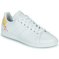 Scarpe Donna Sneakers basse adidas Originals STAN SMITH W SUSTAINABLE Bianco / Multicolore