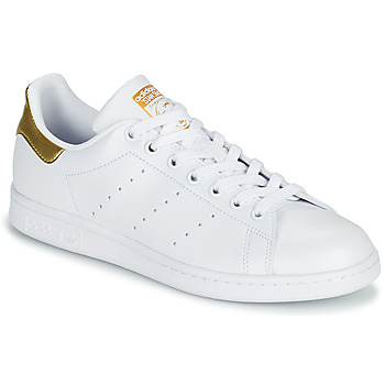 Scarpe Donna Sneakers basse adidas Originals STAN SMITH W SUSTAINABLE Bianco / Oro