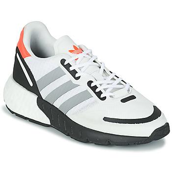 Scarpe Unisex bambino Sneakers basse adidas Originals ZX 1K BOOST J Bianco / Grigio