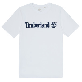 Abbigliamento Bambino T-shirt maniche corte Timberland FONTANA Bianco