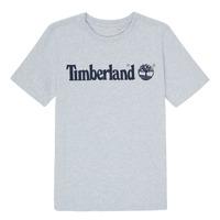 Abbigliamento Bambino T-shirt maniche corte Timberland NINNO Grigio