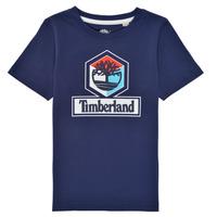 Abbigliamento Bambino T-shirt maniche corte Timberland GRISS Marine