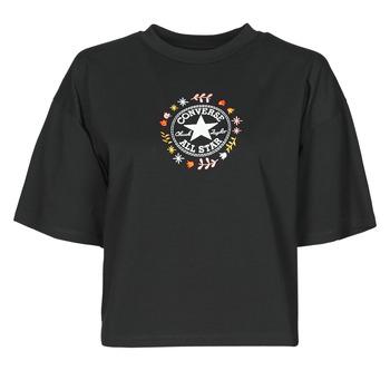 Abbigliamento Donna T-shirt maniche corte Converse CHUCK WOMENS WANDER TANK Nero