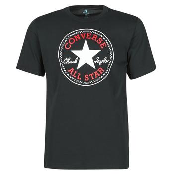Abbigliamento Uomo T-shirt maniche corte Converse NOVA CHUCK PATCH TEE Nero
