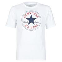 Abbigliamento Uomo T-shirt maniche corte Converse NOVA CHUCK PATCH TEE Bianco