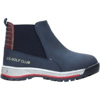 Scarpe Unisex bambino Stivaletti U.s. Golf W19-SUK525 Blu