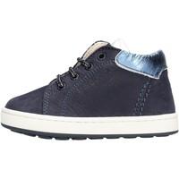 Scarpe Bambina Sneakers alte Balducci - Polacchino blu CITA 4304 BLU