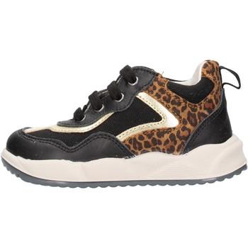 Scarpe Bambina Sneakers basse Falcotto - Polacchino nero GARION-1A18 NERO