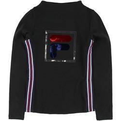 Abbigliamento Bambina T-shirts a maniche lunghe Fila - T-shirt nero 688111-002 NERO