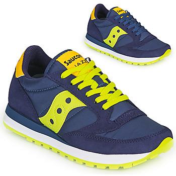 Scarpe Sneakers basse Saucony JAZZ ORIGINAL Blu / Giallo