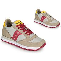 Scarpe Donna Sneakers basse Saucony JAZZ ORIGINAL Beige / Rosso