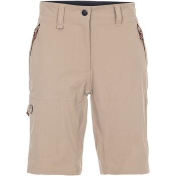 Abbigliamento Donna Shorts / Bermuda Trespass Rueful Beige