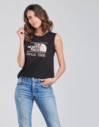 Abbigliamento Donna Top / T-shirt senza maniche The North Face W SEASONAL GRAPHIC TANK Nero