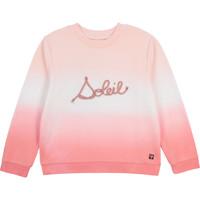 Abbigliamento Bambina Felpe Carrément Beau Y15373-N44 Bianco / Rosa