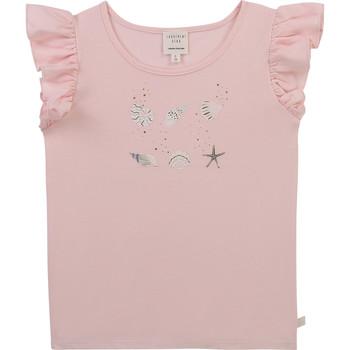 Abbigliamento Bambina T-shirt maniche corte Carrément Beau Y15378-44L Rosa