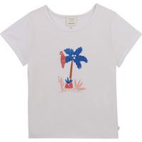 Abbigliamento Bambina T-shirt maniche corte Carrément Beau Y15383-10B Bianco