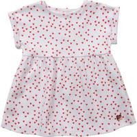 Abbigliamento Bambina Abiti corti Carrément Beau Y92119-10B Bianco