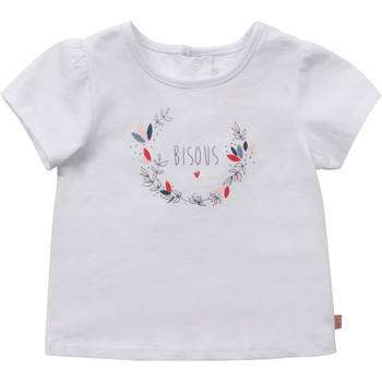 Abbigliamento Bambina T-shirt maniche corte Carrément Beau Y95270-10B Bianco