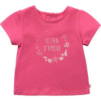 Abbigliamento Bambina T-shirt maniche corte Carrément Beau Y95270-46C Rosa
