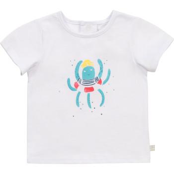 Abbigliamento Bambino T-shirt maniche corte Carrément Beau Y95275-10B Bianco