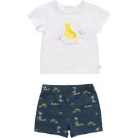 Abbigliamento Bambino Completo Carrément Beau Y98107-N48 Multicolore