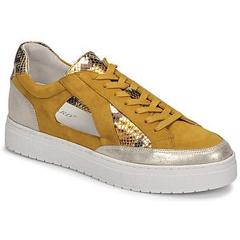 Scarpe Donna Sneakers basse Regard HARY2 Giallo