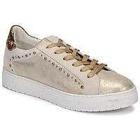 Scarpe Donna Sneakers basse Regard HAVRES Oro