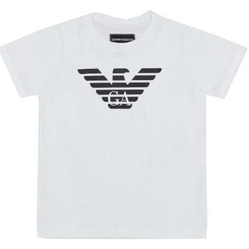 Abbigliamento Bambino T-shirt maniche corte Emporio Armani ARMANI 8N4T99-1JNQZ Bianco