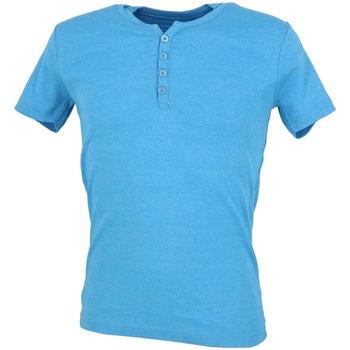 Abbigliamento Uomo T-shirt maniche corte La Maison Blaggio MB-THEO Blu