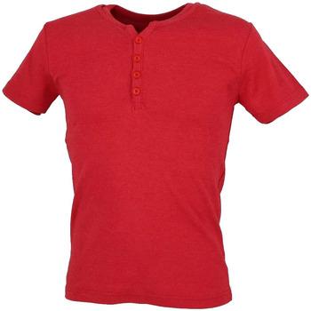 Abbigliamento Uomo T-shirt maniche corte La Maison Blaggio MB-THEO Rosso