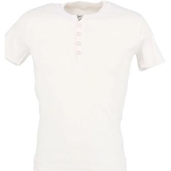 Abbigliamento Uomo T-shirt maniche corte La Maison Blaggio MB-THEO Bianco