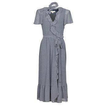 Abbigliamento Donna Abiti lunghi MICHAEL Michael Kors MINI BICOLR 60S FLRL DRS Blu
