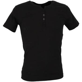 Abbigliamento Uomo T-shirt maniche corte La Maison Blaggio MB-THEO Nero