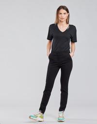 Abbigliamento Donna Pantaloni 5 tasche Karl Lagerfeld SUMMERPUNTOPANTS Nero