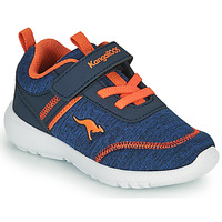 Scarpe Bambino Sneakers basse Kangaroos KY-CHUMMY EV Blu / Arancio