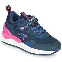 Scarpe Bambina Sneakers basse Kangaroos KD-GYM EV Blu / Rosa