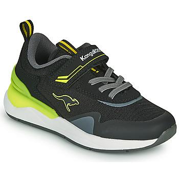 Scarpe Bambino Sneakers basse Kangaroos KD-GYM EV Nero / Giallo