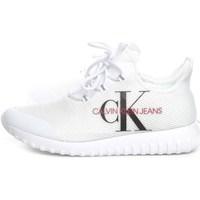 Scarpe Uomo Sneakers basse Calvin Klein Shoes b4s0707 Basse Uomo Bianco Bianco