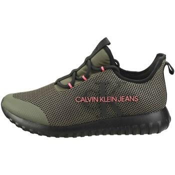 Scarpe Uomo Sneakers basse Calvin Klein Shoes b4s0707 Basse Uomo Verde Verde