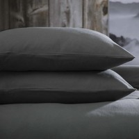 Casa Federa cuscino, testata Belledorm BM306 Carbone