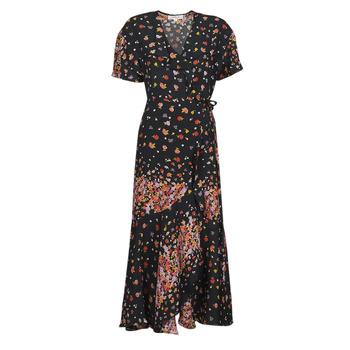 Abbigliamento Donna Abiti lunghi Derhy SUEDE Nero / Multicolore