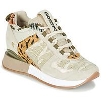 Scarpe Donna Sneakers basse Gioseppo PATERSON Beige / Kaki