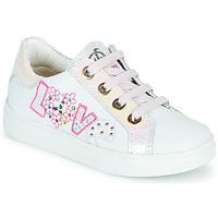 Scarpe Bambina Sneakers basse Pablosky AMME Bianco / Rosa