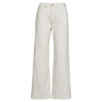 Abbigliamento Donna Jeans dritti Pepe jeans LEXA SKY HIGH Bianco / Wi5