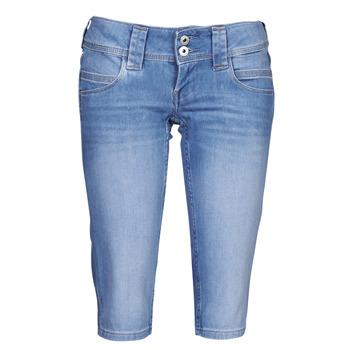 Abbigliamento Donna Pinocchietto Pepe jeans VENUS CROP Blu