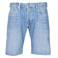 Abbigliamento Uomo Shorts / Bermuda Pepe jeans STANLEU SHORT BRIT Blu / Clair